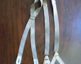 1940s Tan Braces