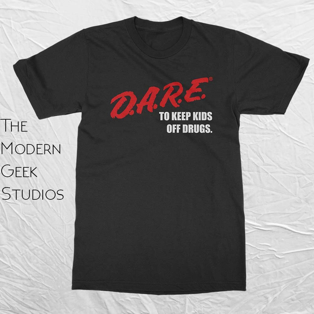 D a r e dare vintage logo shirt screen printed basic or for Order screen printed shirts