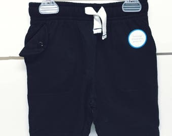 Insulin pump shorts / black / size 3T or 4T