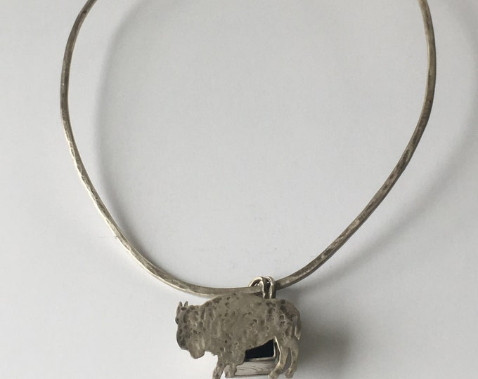 Buffalo Choker Necklace