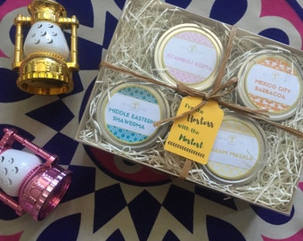 Organic Global Spices Tin Gift Set - 4 options to choose from!