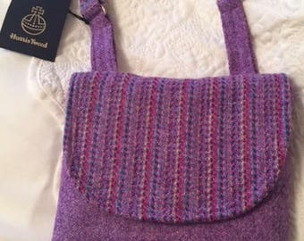 The Polly Crossbody Bag in Harris Tweed - Free P&P within the UK