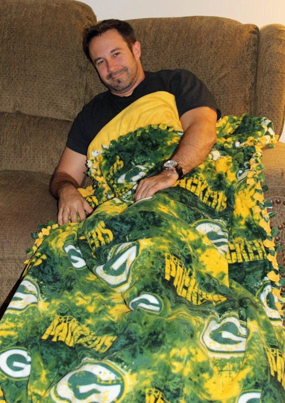 Green Bay Packers Blanket | Packers Throw Blankets | NFL Stadium Blankets | Green Bay Blanket | Stadium Fleece Blanket