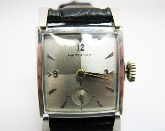 Vintage Hamilton Watch from the 1950's in WGF Case Mechanical Hand Wind