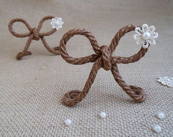 bow wedding table card holders wedding place card frames placecard holder rustic wedding