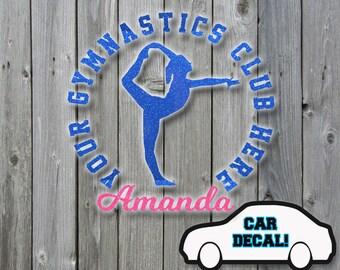Car Decal Gymnastics