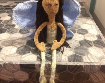 Donela the Woodland Fairy Doll w/ Detachable Wings