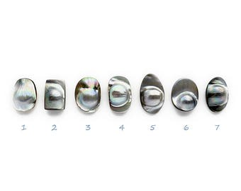 Tahitian Black Mabe Pearls AAA Small