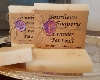 Lavender Patchouli Soap **FREE SHIPPING**