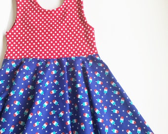 Rocket pop twirly dress