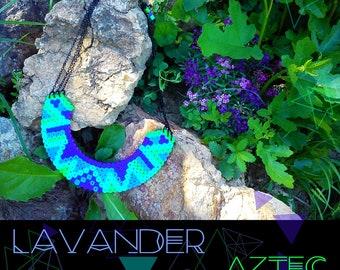 AZTEC / LAVANDER necklace