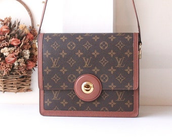 Louis Vuitton Monogram 2 way Shoulder handbag Authentic Vintage bag