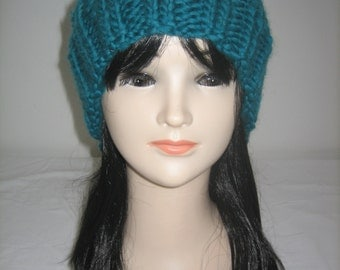 Big Cap wool 100% Merino emerald green