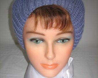 Alpaca and Merino Wool beret women