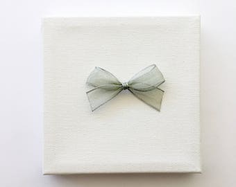 Perfect Little Silver Bow