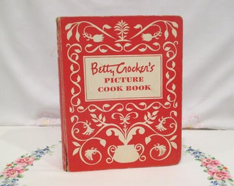 Betty Crocker's Picture Cook Book 1950's