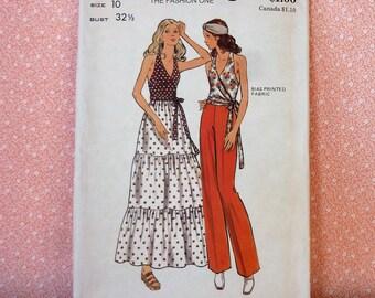 Vintage Butterick Sewing Pattern #6709, Size 10, UNCUT