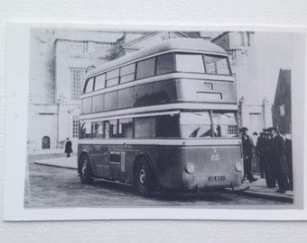 Photo of Old Bus Huddersfield Yorkshire, Vintage transport Picture East Penine T G A Marshall Collection