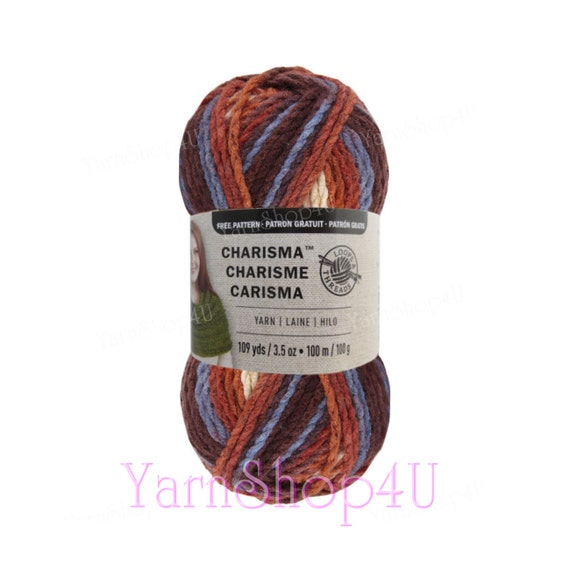 MOUNTAIN MAJESTY Bulky Charisma Loops And Threads Brown