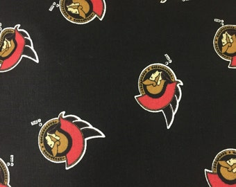 1/2 Yard NHL Ottawa Senators Fabric