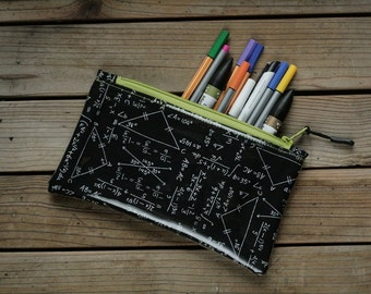 Maths Pencil Case Etsy