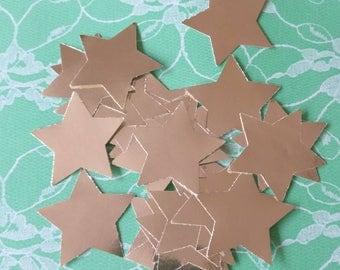 30 Silver Stars, die cut for card making, scrap booking