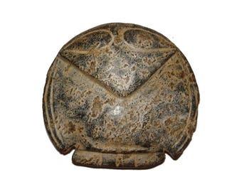 Archaic Hongshan Jade Spirit Bird Eagle Amulet