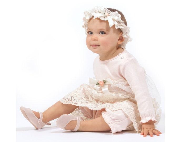 Newborn Girl Coming Home Outfit Summer, Newborn Girl Outfit, Baby Girl Take Home, Baby Girl Pink Lace Dress, TesaBabe RH54SSABHIYBF59SAF