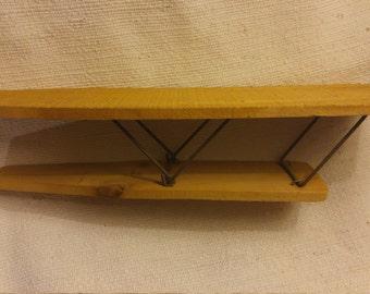 Wooden sleeve ironing board