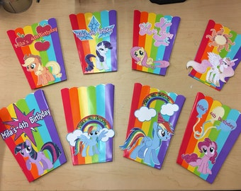 Pony/Pop Corn Boxes/Party Decorations