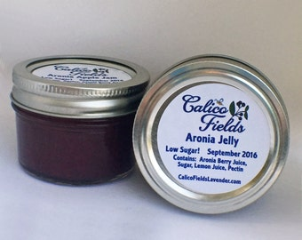 Jelly - Jam - Aronia Jelly - Aronia Apple Jam - Homemade Preserves