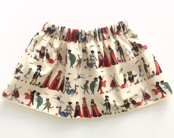 PROCESSION PARADE // alice in wonderland skirt // rifle paper co// baby and toddler skirt