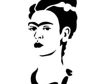 Frida Kahlo Decal