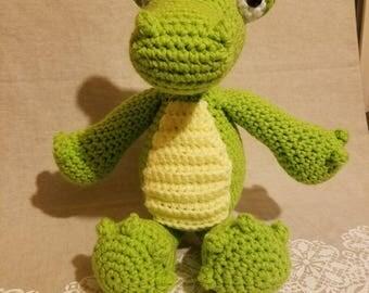 Handmade Amigurumi Alligator/Crocodile