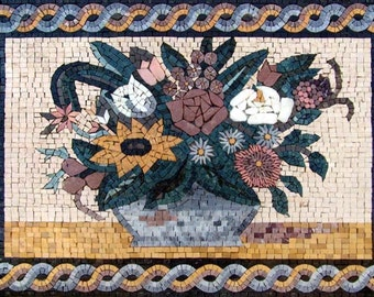 Floral Arrangement Mosaic
