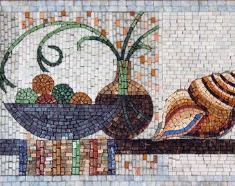 Mosaic Designs- Mollusco