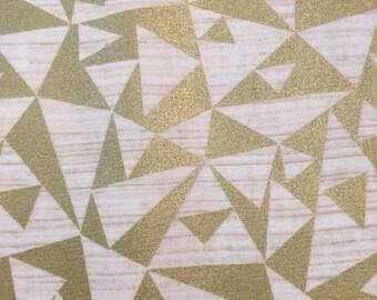 Refinery by Studio E Gold Metallic Triangles