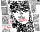 Emily The Strange Vol 2 by Rob Reger Buzz Parker Scrapbook and Design History of Emily Black Cats Kitties Stranger Comics Graphic Novel