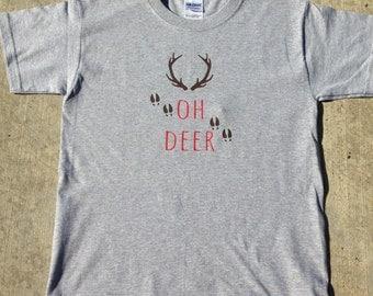 OH Deer Youth Tee Shirt