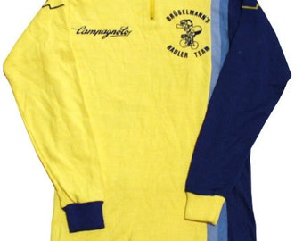 70's vintage Brugelmann team Campagnolo cycle jersey made in Germany