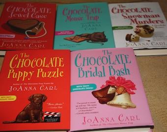 5 Joanna Carl Books / Free shipping