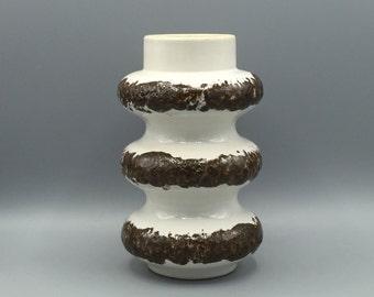 Spara Edel - Keramik 265 - 20, rare vintage vase 1960s / 1970s, Mid Century West Germany Pottery. WGP.