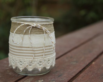 Tealights range: country chic wedding 2 |