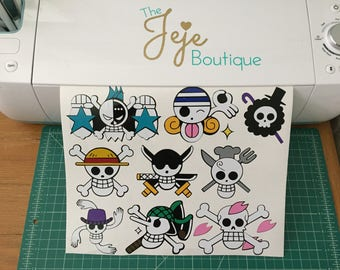 Jolly Roger decals