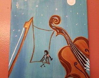 Grl & Violin