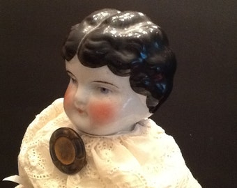 Antique China head doll.
