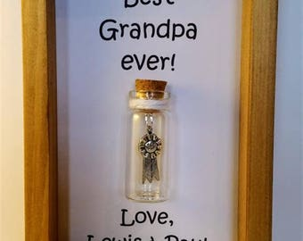 Grandpa gift, Gifts for grandpa, Grandpa, Personalised grandpa gift Grandpa. Add names or your own message.