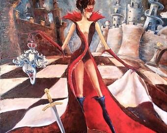 Abstract Painting,Surrealism,Original Art, Painting , Canvas Oil Painting, Art, Large Painting On Canvas, Contemporary Art, Original Art