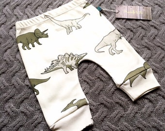 READY TO SHIP Baby clothes, dinosaurs baby leggings, organic baby clothes, leggings, baby trousers, baby pants, baby gift, dinosaurs