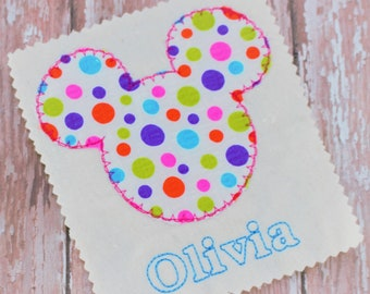 Mickey Mouse Applique Instant Download - Applique Mickey Mouse Embroidery Design - Mickey Applique Design - Disney Machine Embroidery Design